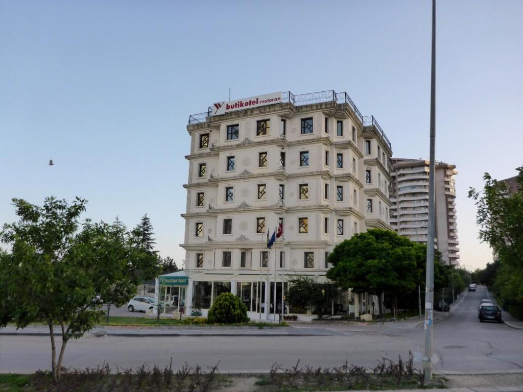 A fine hotel.