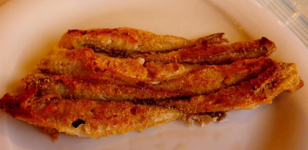 A Black Sea fish delicacy - very tasty.