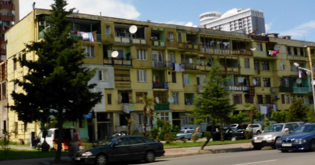 Scenes from around Batumi.