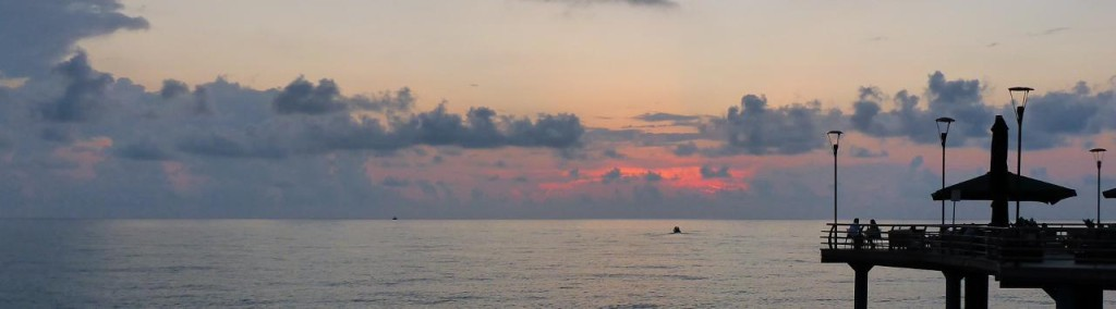 A Black Sea sunset.