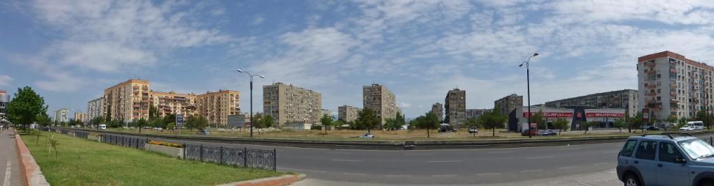 Downtown Rustavi.