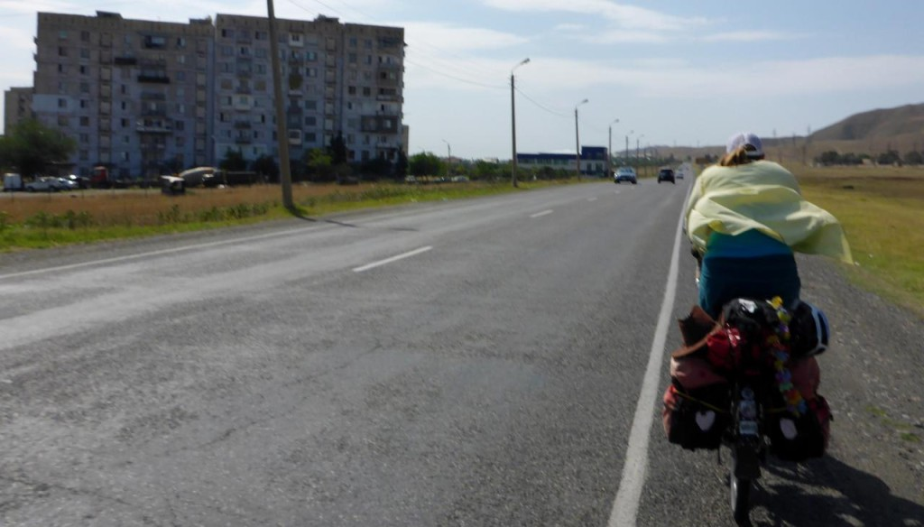 Our ride out od Rustavi, Georgia.