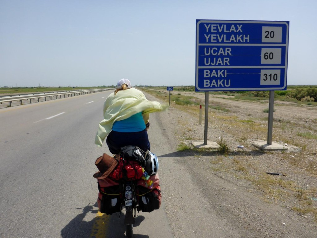 A long way to Baku.