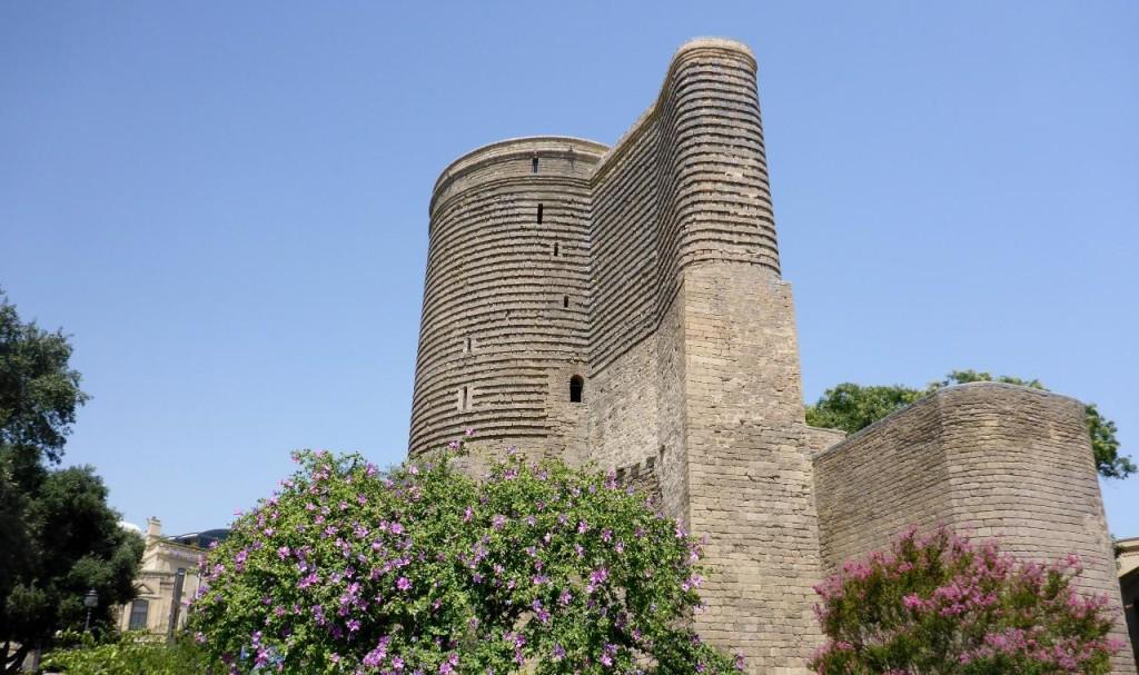 Old City Baku walls.
