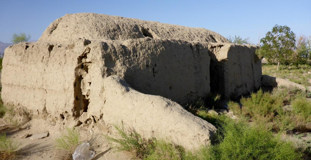 This several hundred year old building is where the corpses were washed right before burial.