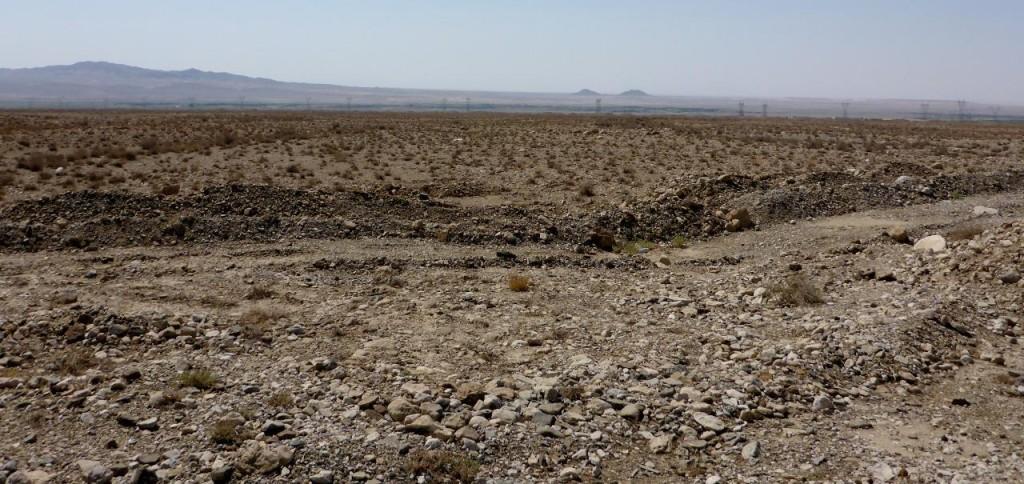 The Semnan Desert.