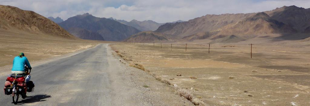 "This ride was so quiet and peaceful. Many power poles were down so none of the villages had power and probably never will. 80% of the Tajiks are below poverty level. It seems like this area is the ""forgotten"" part of Central Asia."