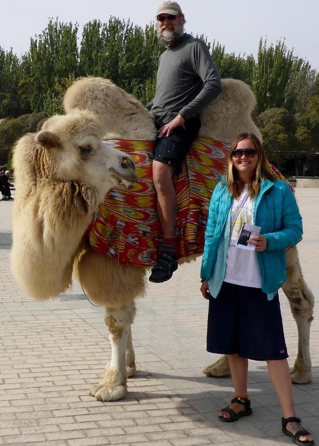 I think this camel is getting ready to spit at someone! Heavy drooling.