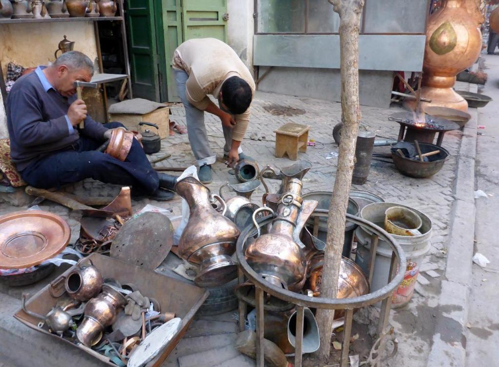 I love watching craftsmen such as this gentleman.