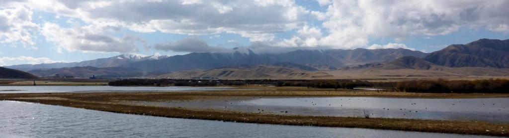 """The Tibetan Highlands consist of the Tibetan Plateau (the """"roof of the world"""") and Grasslands."""