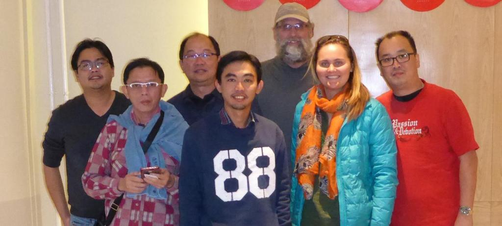 Our five new Malaysian friends who we accompanied to the Labrang Tibetan Monastery.
