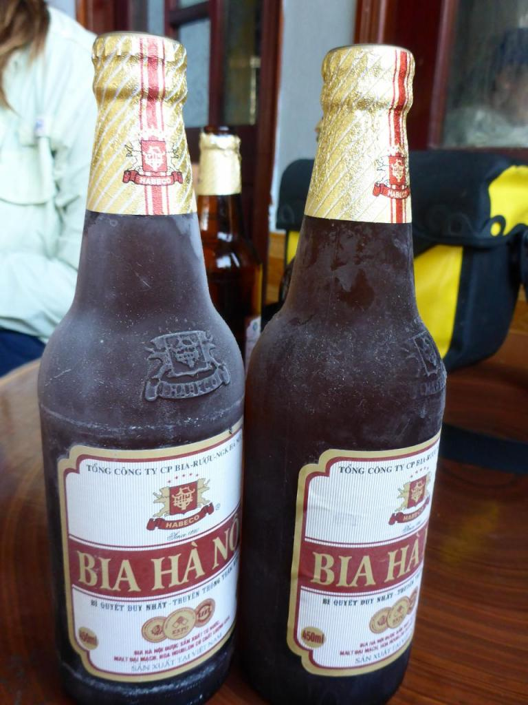 These are ridiculously cold. After months of very little refrigeration in Asia Vietnam has the cold beer.