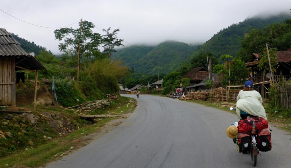 A typical mountain village.