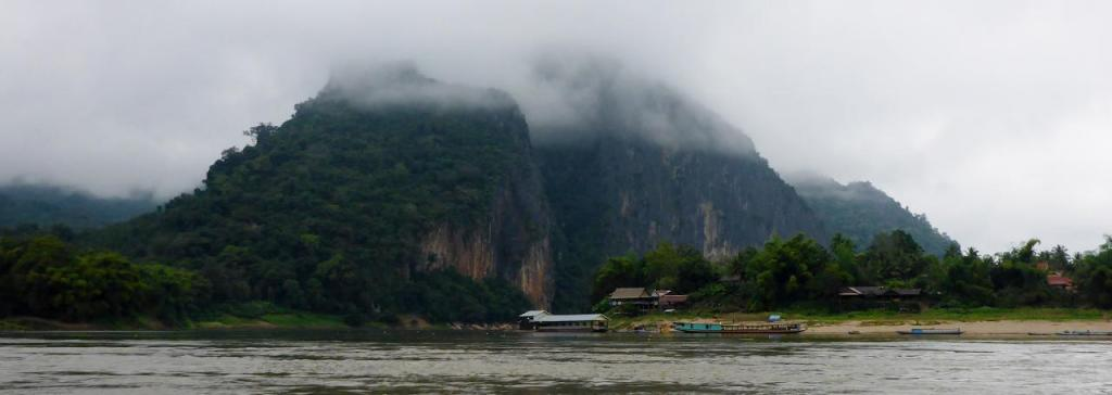 Scenes from along the Mekong.