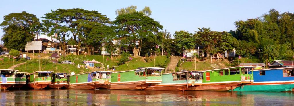 The port at Huay Xai, Laos.
