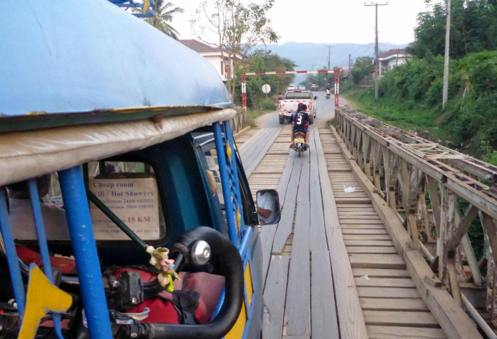 Heading to the border in Huay Xai, Laos.
