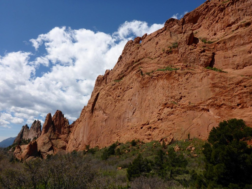 The Garden of the Gods in Colorado Springs.