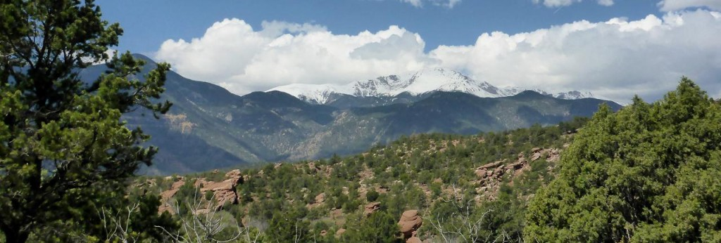 Another view of Pikes Peak.