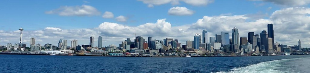 A ferry ride to Bremerton gave us a nice view of Seattle.