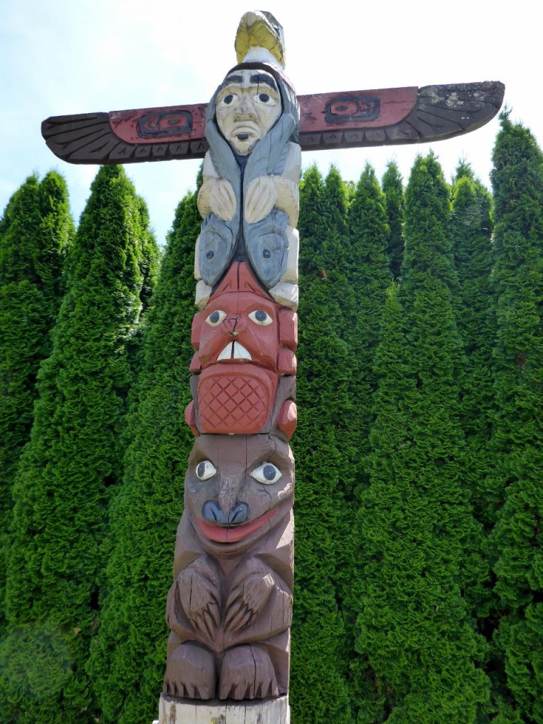 Totem pole country.