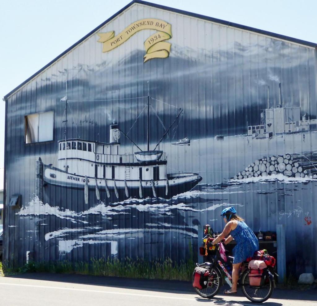 Cool mural.