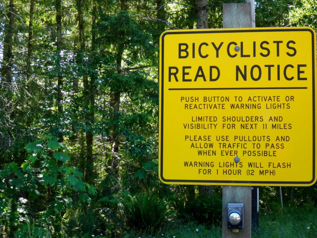 Washington is very proactive with bicyclists' safety.