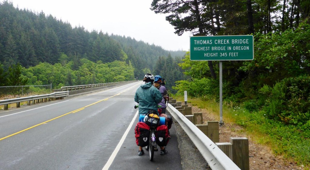 The highest bridge in Oregon.