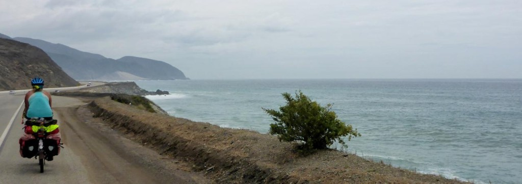 South along Pacific Coast Highway.