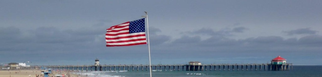 Huntington Pier, Surf City USA.