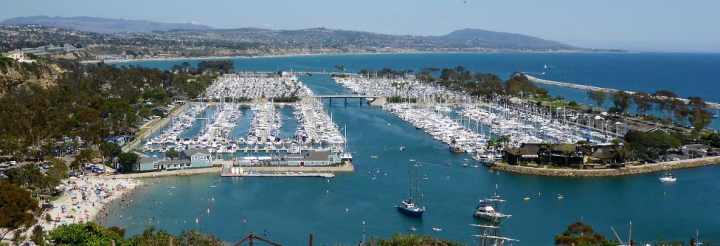 Dana Point Marina.