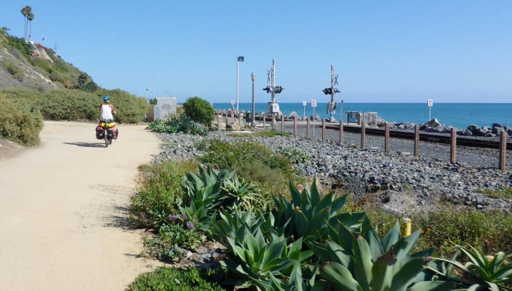 A fun beach bike trail.