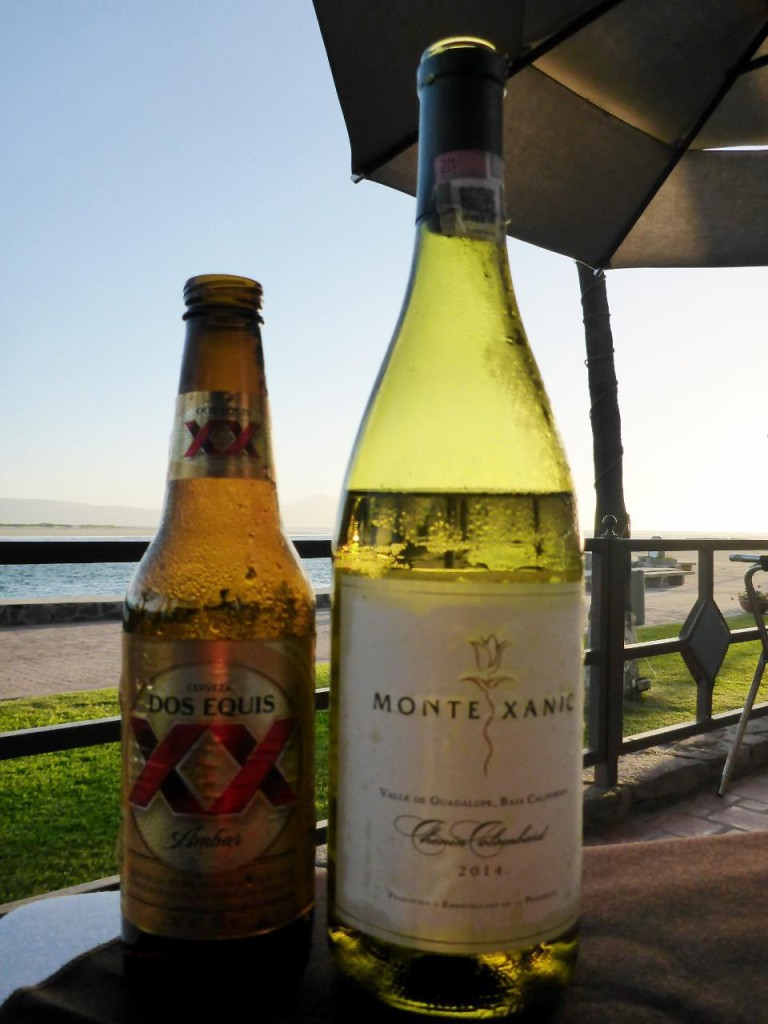 A fine Mexican beer and wine. The free road to Ensenada travels along Mexican wine country.