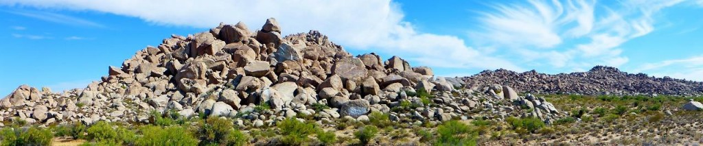 I have never seen a hill of boulders. Interesting. How did it get this way?