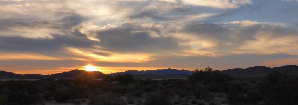 A Baja sunrise.
