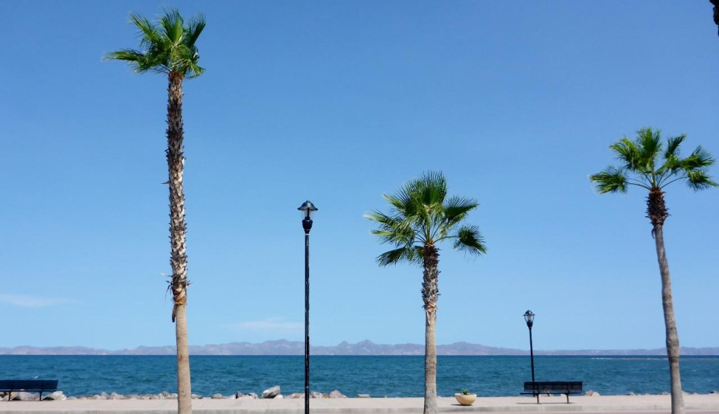 Loreto, Baja California Sur. The view from our bungalow.