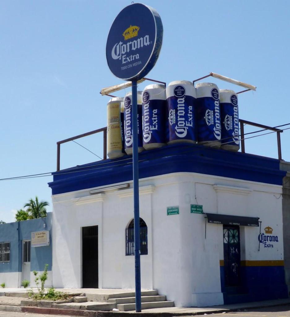 A Corona store.