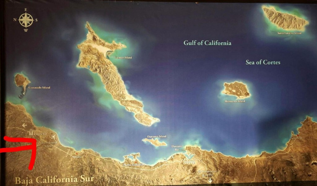 Loreto on the Gulf of California.