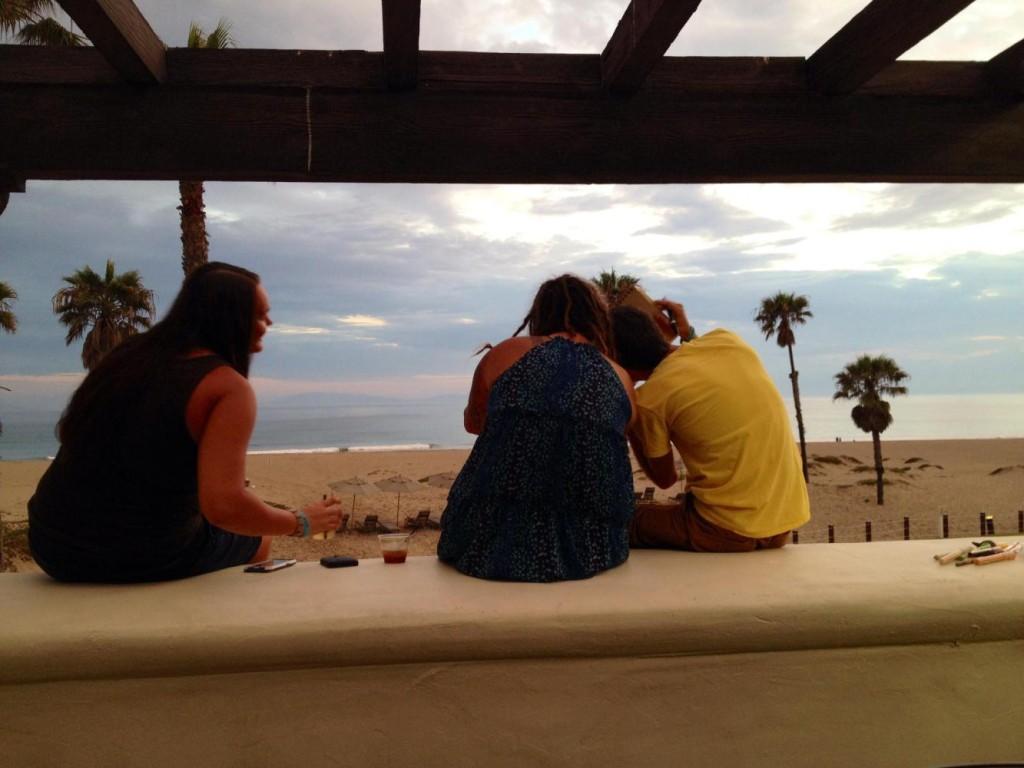 Nicole, Jocelyn and Cary...fun times.