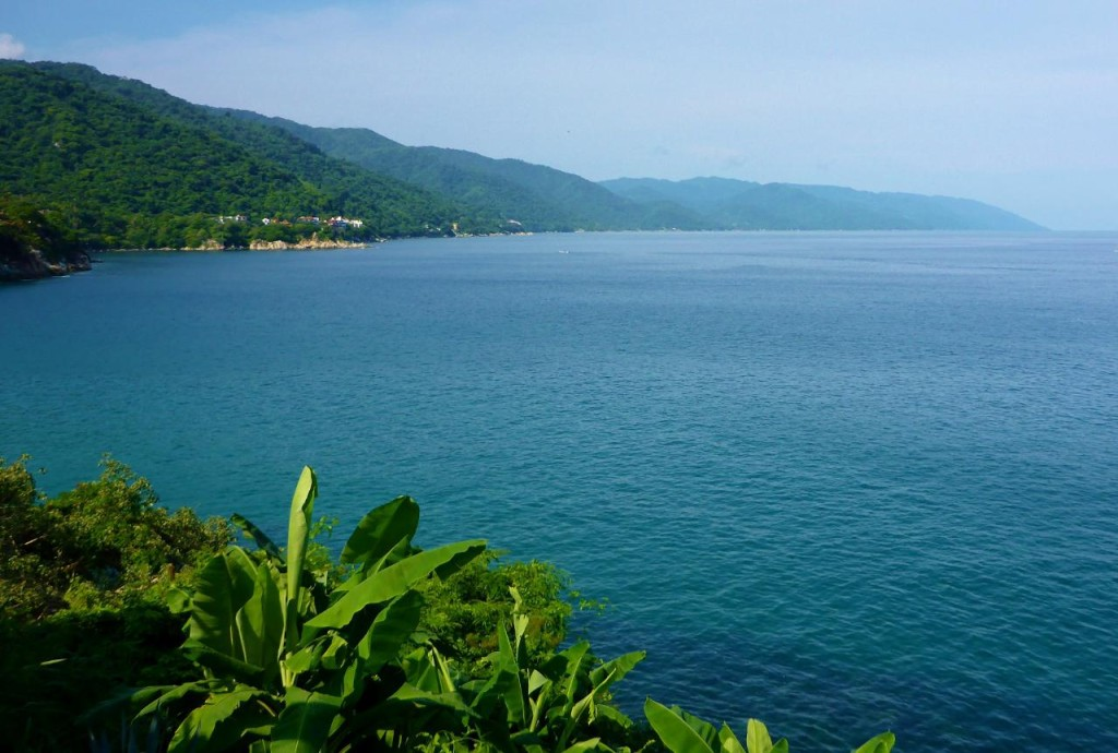 The beautiful southern bay of Puerto Vallarta.