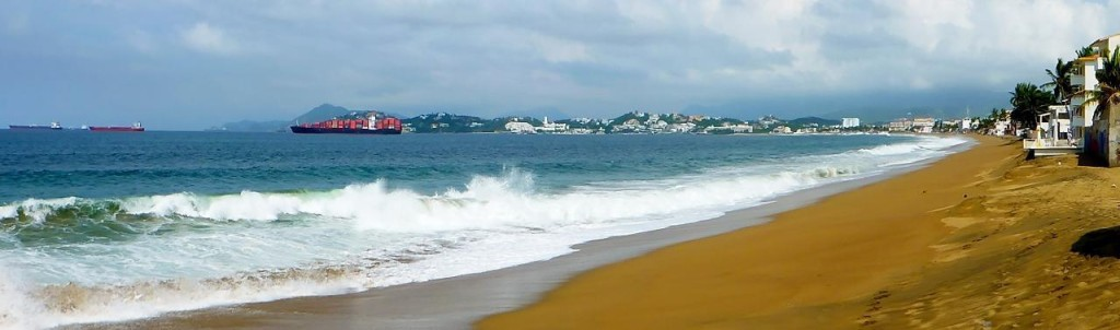 Manzanillo Bay.