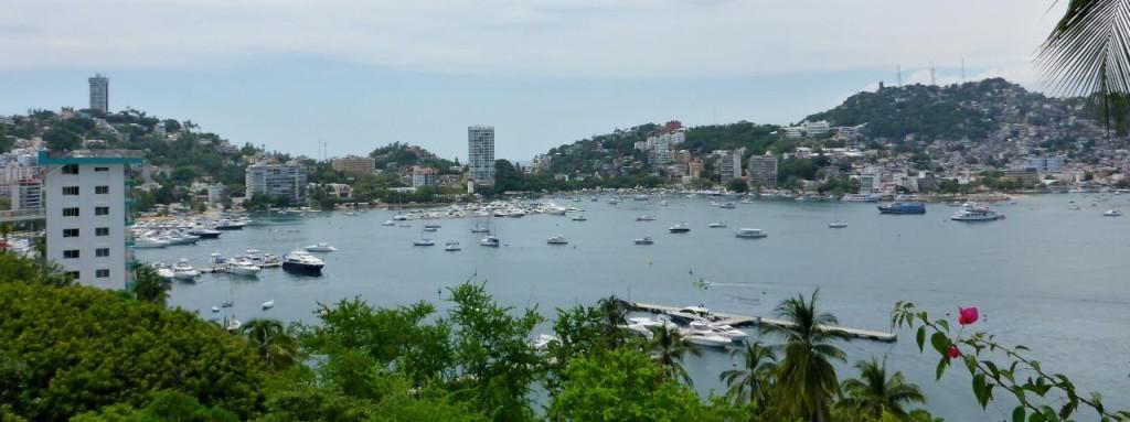 Acapulco Bay.