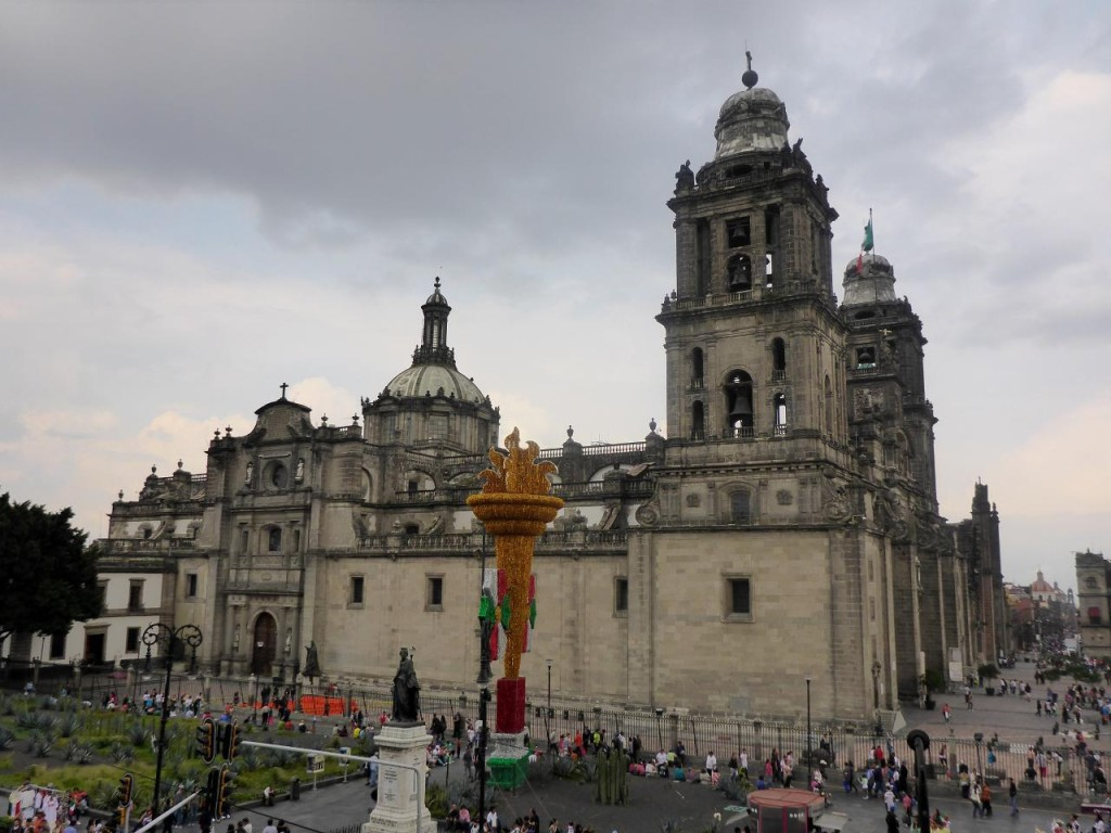 The two bell towers contain a total of 25 bells.