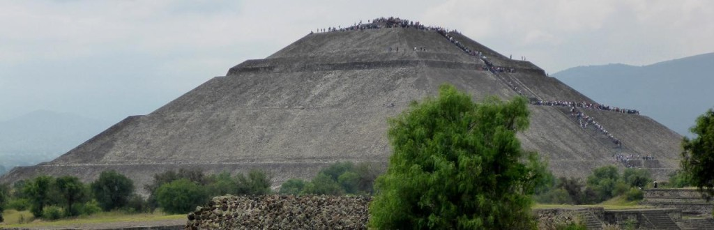 Pyramid of the Sun 65 meters.