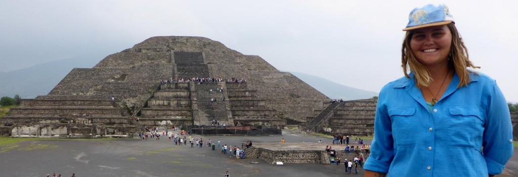 The Spanish thought these pyramids were rocky hills and ignored them. If they knew what they where they would have been destroyed.