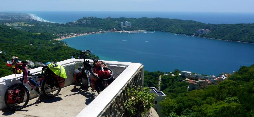 South of Acapulco.