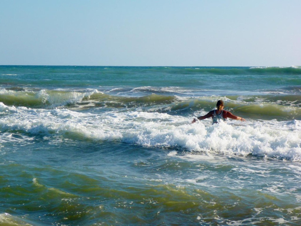 A nice swimming break.