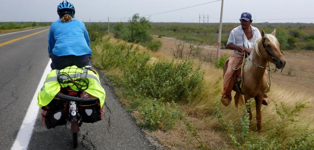 Or this perhaps! The senor is eyeing Jocelyn's bike. We like what we have.