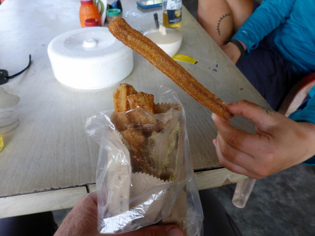 After lunch I went over and bought churros. Delicious.