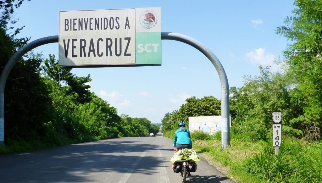 We cycled into our 10th Mexican state. Adding Mexico City D. F.(District Federal) makes that 11 out of 33 states so far. We entered Mexico two months ago.