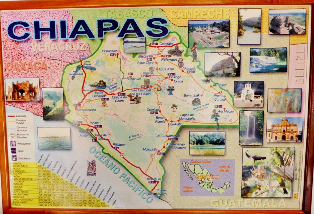 Our last state of Chiapas. Next up Guatemala.